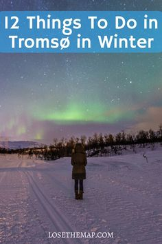 If you are exploring the Arctic Circle, check out the top 12 things to do in Tromsø, Norway in winter!   From activities and museums to the best restaurants, this Tromsø travel guide has it all.  Find out the best place to go dog sledding, aurora chasing, and eat the best Norwegian food in town!