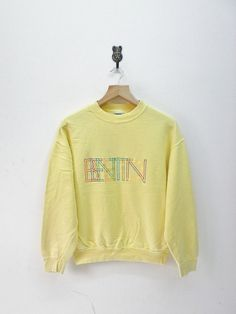 UNITED COLOURS of BENETTON Rainbow Box Logo vintage Sweatshirt lPMN8P