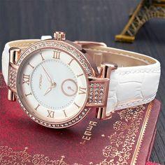 SINOBI Fashion Womens Wrist Watches For Top Luxury Brand Female Leather Watchband Golden Ladies Quartz Clock de Vrouwen Horloges i love watches for men & wathces women's Overwatch, Swatch, Top Luxury Brands, Skeleton Watches, Casual Watches, Luxury Watches For Men, Watch Sale, Vintage Watches, Wrist Watches