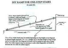 DIY ramp for DDY. Copyright Daley's Dog Years.