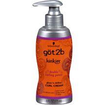 Walmart: Schwarzkopf got2b Kinkier Gloss 'N Define Curl Cream, 6 fl oz
