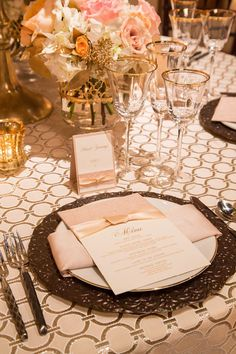 Silver and Champagne Chanel Inspired Wedding    @nvlinens   Playing with Geometric Prints for Summer!