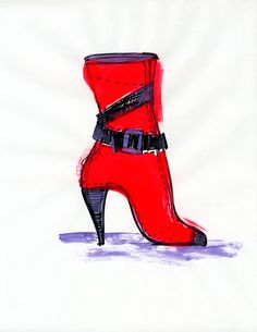 I want these shoes! Shoes Photo, Pumps, Heels, Photo Illustration, Fashion Sketches, Sketching, Fashion Art, Me Too Shoes, Cool Style
