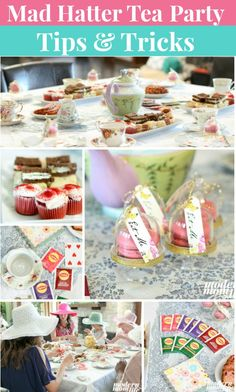 How to throw an amazing Mad Hatter Tea Party that will keep your guests talking for weeks. Decor items, recipes, tea etiquette, and craft ideas for an Alice in Wonderland tea party featuring Lipton teas.