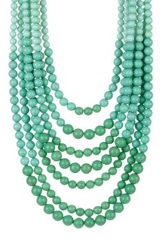 Ombre Layered Necklace <3!   www.sweet-surprises.com
