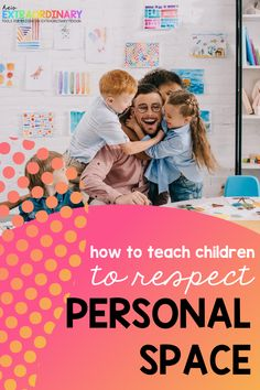 Helpful information for teaching children about what personal space is, and how to respect personal space based on the relationships you have with others. Includes books, a free printable social story, and activity ideas to help children better understand the story. #PersonalSpace #SocialStories #ParentingTips