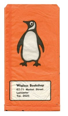 Wigleys Bookshop, paper bag