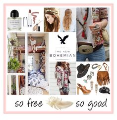 """""""The New Bohemian with American Eagle Outfitters: Contest Entry"""" by fishetta on Polyvore"""