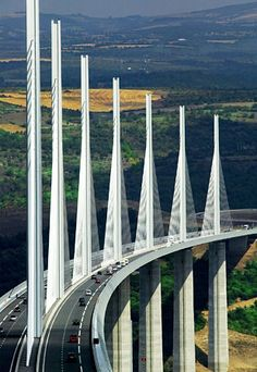Tallest Bridge - Millau Viaduct - France