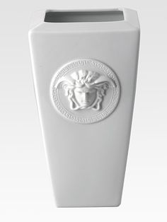 Available at Palazzo Collezioni Boutique Sydney www. Bathroom Accessories Sets, Home Decor Accessories, Decorative Accessories, Custom Furniture, Luxury Furniture, Rosenthal Versace, Versace Home, Versace Versace, Red Vases