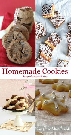 Homemade Cookies that are sure to impress.