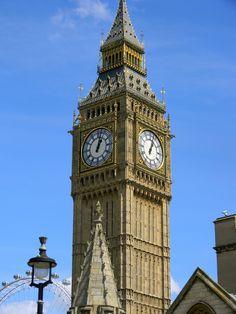 May 2013: Big Ben in London.