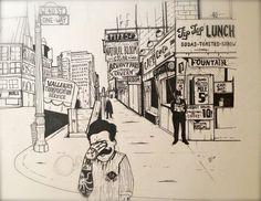 Sketchbook: a type exploration! by Becki Sinclair, via Behance