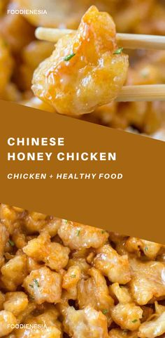 Chinese Honey Chicken Chinese Honey Chicken is a light and crispy tempura battered chicken dish tossed with a sweetened honey sauce made with just 6 total ingredients in 20 minutes! Chicken Recipes Video, Chicken Breast Recipes Healthy, Healthy Low Carb Recipes, Meals With Chicken Breast, Clean Chicken Recipes, Honey Sauce For Chicken, Chinese Honey Chicken, Asian Chicken, Honey Recipes