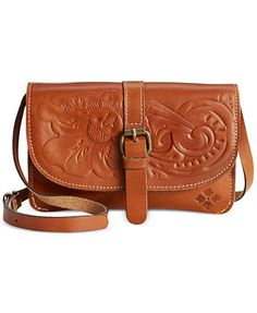 Patricia Nash Tooled Torri Crossbody Para mi look playa /Sunshine Coast chick :)