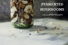 Fermented Mushrooms ... So, I am not necessarily bored with the ferments that I have in my fridge.  But, I did realize that I always ferment the SAME THINGS.  Again and again.  SImply because we have our favorites.  When I was at the … Continue reading →