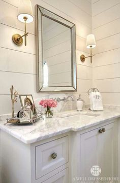 Granite counter & cabinet idea