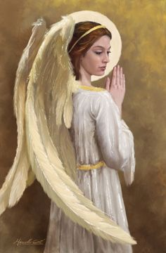 Angel art by Marcello Corti Angel Images, Angel Pictures, Beautiful Angels Pictures, Angels Among Us, Angels And Demons, Seraph Angel, Angel Guide, Angel Quotes, My Guardian Angel