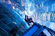 For the past few years, Ivan Kuznetsov and his friends have been sneaking past guards at the world's tallest buildings in an effort to take death-defying photos at the top.  Rolling Stone recently published a fantastic interview with the Russian dare devil himself. Take a look!