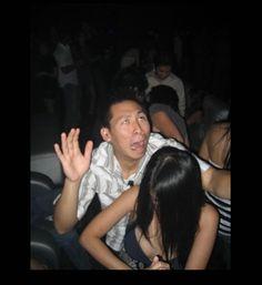 dancing face fails, funny dancing faces, funny photos, asian guy
