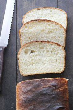 Receta Pan De Molde Pan Bread, Canapes, Bread Rolls, Banana Bread, Biscuits, Bakery, Good Food, Food And Drink, Desserts
