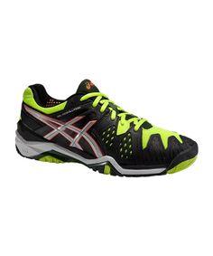 Las Asics Gel Resolution 6 Negro Amarillo E500Y 9993 son unas zapatillas de  estupendo diseño f06f63b8a2b42