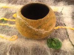 Bowl felted  by Kumari