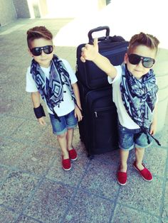 These twins are killing us softly with the double amount of cool.