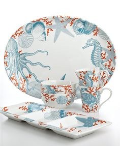 Sandra by Sandra Lee -16-Piece Dinnerware Set. How would this look ...