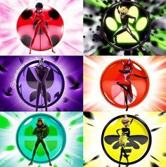 🐞🐱🐝🐢 e Hawk Moth. 😈 💫Kwamis e miraculous💫 Ladybug E Catnoir, Ladybug Und Cat Noir, Ladybug Comics, Miraculous Ladybug Wallpaper, Miraculous Ladybug Fan Art, Mochila Do Pokemon, Lady Bug, Marinette E Adrien, Les Miraculous