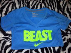 BEAST Nike Shirt. where can I get this.