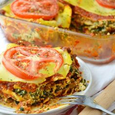 Vegan Beef & Veggie Lasagna Recipe by @veggieworldrecipes Dairy Free Lasagna, Vegan Lasagna Recipe, Lasagna Recipes, Pasta Recipes, Vegan Gluten Free, Gluten Free Recipes, Vegan Recipes, High Protein Vegetarian Recipes, Vegetarian Dinners