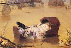 William Holman Hunt - A Flood