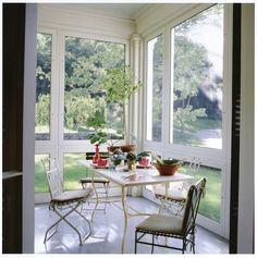Gil Schafer screen porch at Middlefield