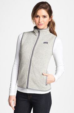 Patagonia Better Sweater Vest Available At Nordstrom Good
