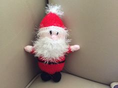 Santa knitting project by Pam S