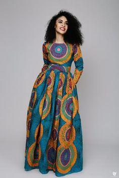 1 Dress, Different Stylish Way to Rock it! ÖFUURË Ankara Collection is Breath of Gorgeousness - Wedding Digest Naija