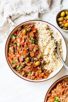 Crock Pot Picadillo Recipe, Crock Pot Recipes, Veggie Recipes, Slow Cooker Recipes, Beef Recipes, Cooking Recipes, Healthy Recipes, Freezer Recipes, Cooking Tips
