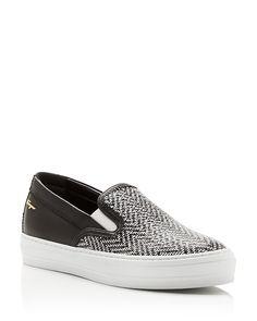 475.00$  Buy here - http://viezt.justgood.pw/vig/item.php?t=urpwo047750 - Salvatore Ferragamo Pacau Twist Slip-On Sneakers 475.00$