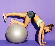 Ready for a challenge? The Rolling Pin exercise blasts belly fat and strengthens your obliques, butt and hamstrings.