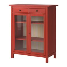 Delicieux Possible Bar Cabinet? HEMNES Linen Cabinet IKEA Solid Wood, A Hardwearing  Natural Material. Both Shelves Are Adjustable To Four Different Positions.