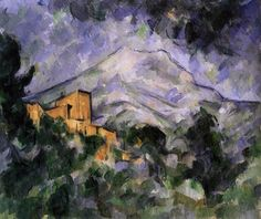 Mont Sainte-Victoire and Château Noir 1904-06 Oil on canvas, 66 x 81 cm Bridgestone Museum of Art, Tokyo