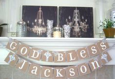 God Bless This Child personalized name Baptism by lolaandcompany, $29.00