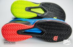 Suela de espiga en las zapatillas Wilson Amplifeel 2017