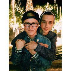 Tyler Oakley + Troye Sivan = TROYLER MY OTP