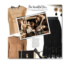 """""""So Thankful🙏🏾"""" by sherieme ❤ liked on Polyvore featuring Dolce&Gabbana, dolceandgabbana, topset, polyvorecontest and imthankfulfor"""