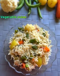 Veg pulao recipe, Mixed vegetable pulav, How to make veg pulao