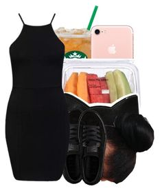 """My whole body see through✨"" by maiyaxbabyyy ❤ liked on Polyvore featuring Forever 21 and Puma"