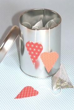 Tee mit Herz - Lianas Welt verrät dir tolle kreative Ideen für deinen Alltag!