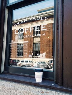 Bean vault coffee in Hoboken